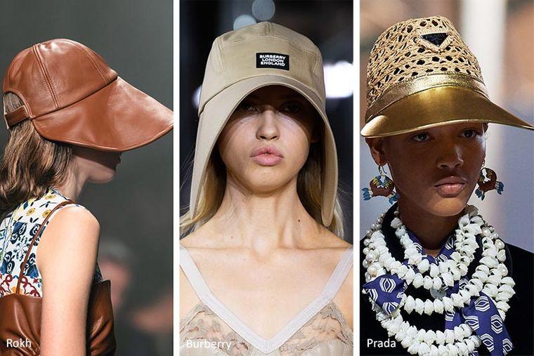 sombreros de verano viseras