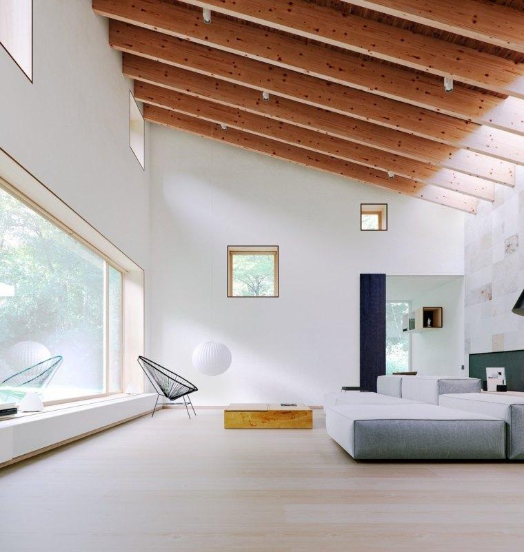 Salones modernos minimalistas – 70 + fotos de salas de estar funcionales