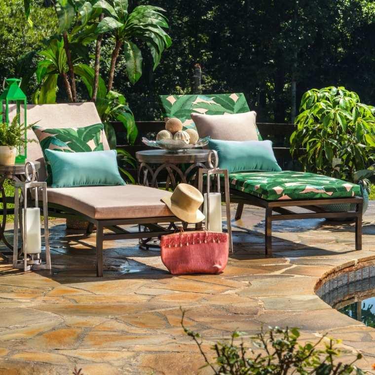 Decorar con hojas verdes – Ideas para crear una decoración tropical