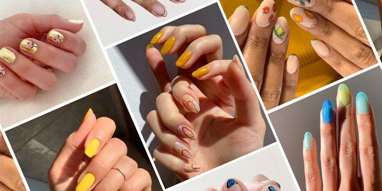 uñas de verano diseños