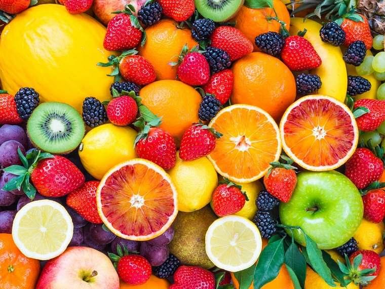 Frutas saludables-variedades-apropiadas