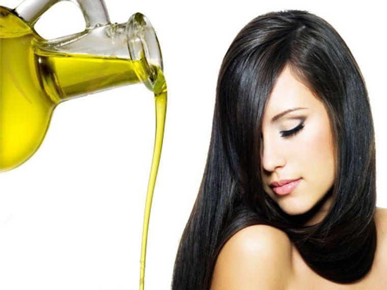 aceite de oliva brillo cabello