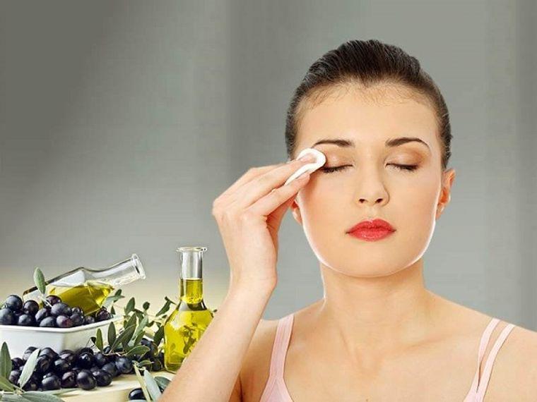 aceite de oliva desmaquillar