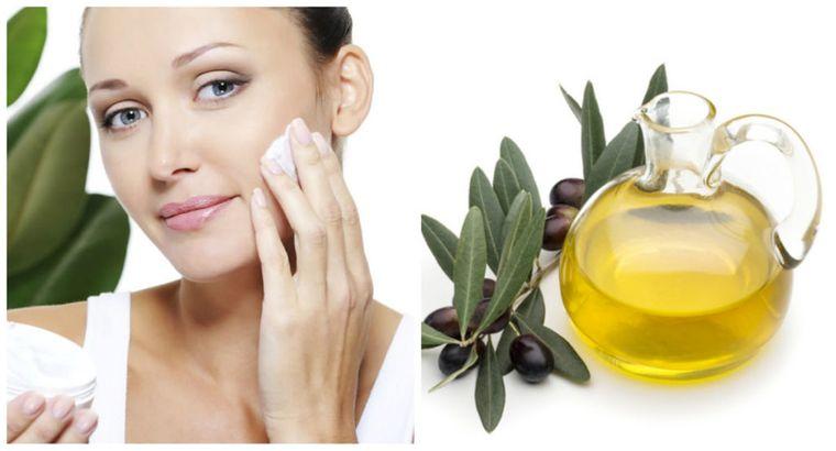 aceite de oliva rostro