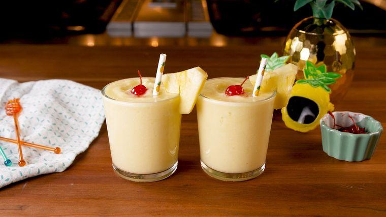bebidas refrescantes limon leche coco