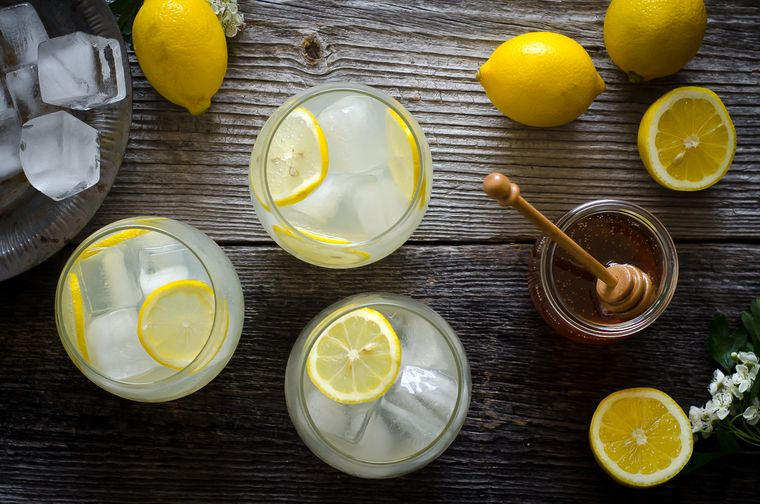 bebidas refrescantes limon miel