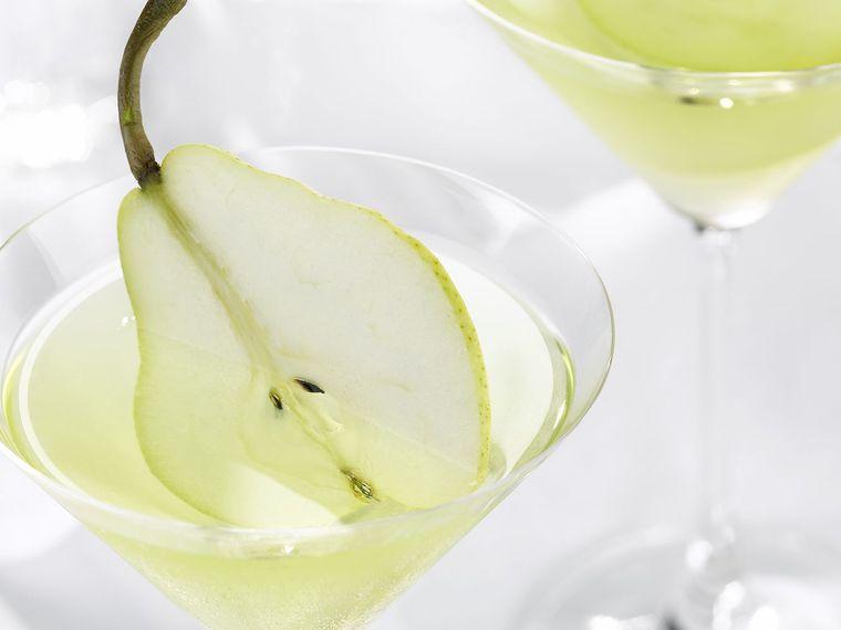 bebidas refrescantes pera