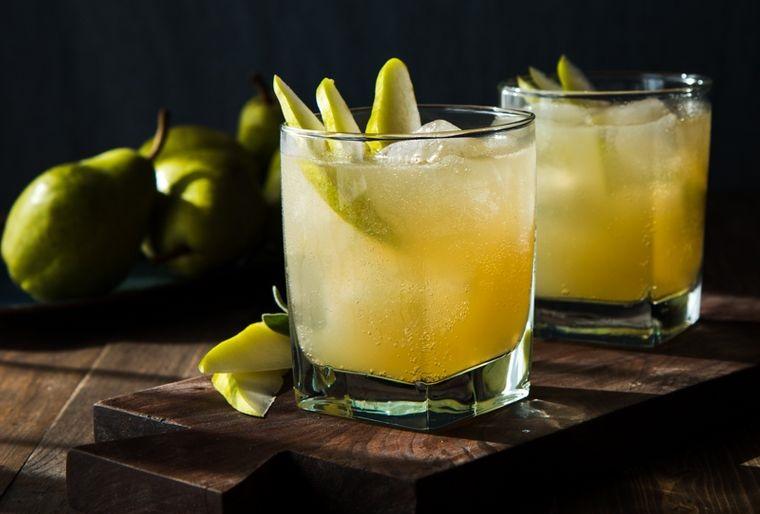bebidas refrescantes peras