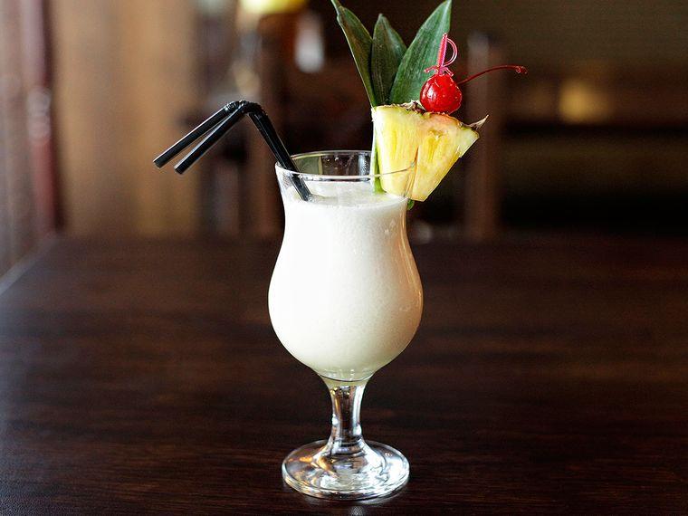 bebidas refrescantes piña colada