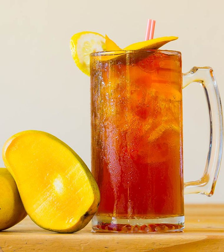 bebidas refrescantes te verde mango