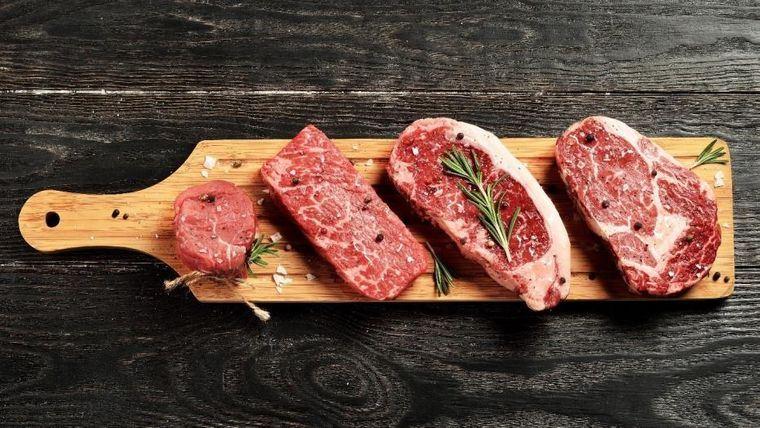 carne de res tipos