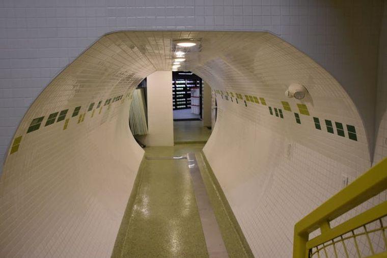 condominio subterraneo acceso