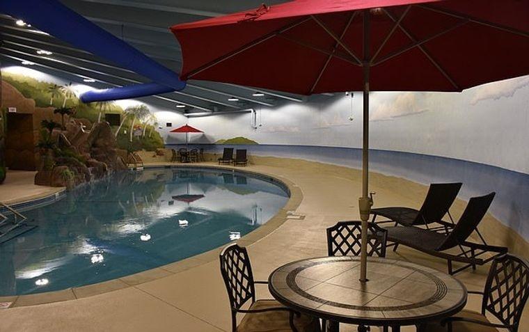 condominio subterraneo piscina
