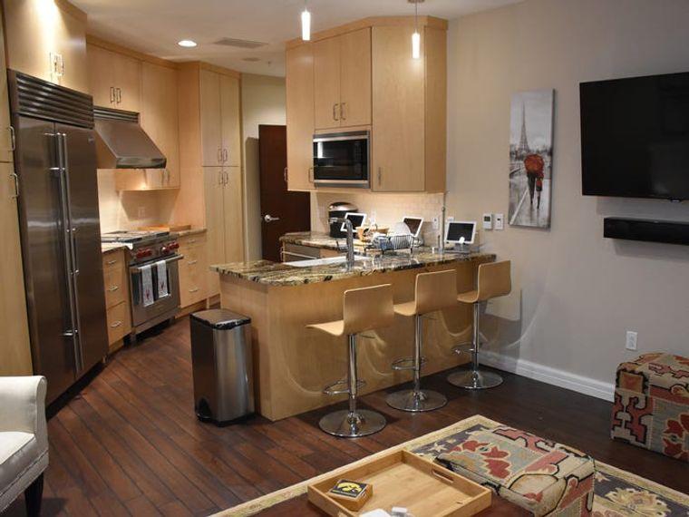 condominio supervivencia cocina