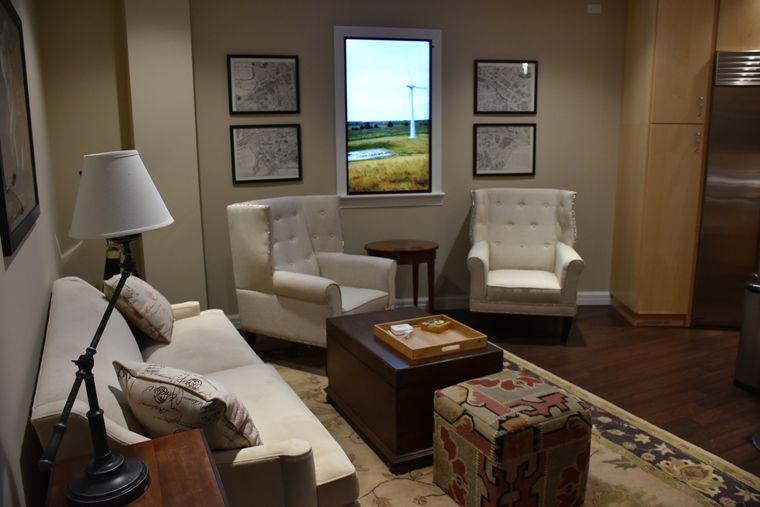 condominio supervivencia sala de estar