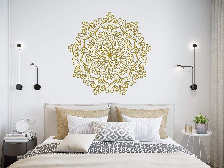 decoración con mandalas dormitorio