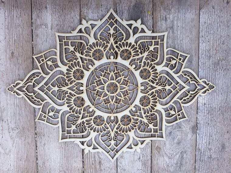 decoración con mandalas elementos