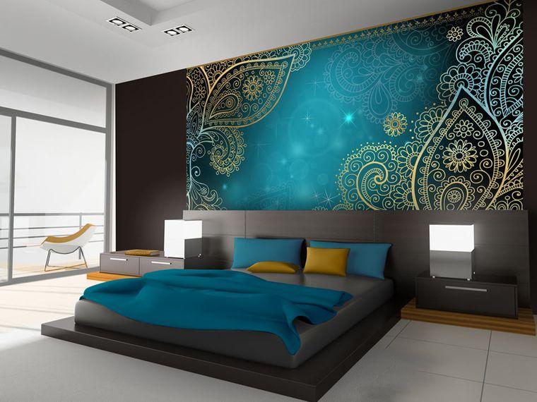 decoración con mandalas habitacion