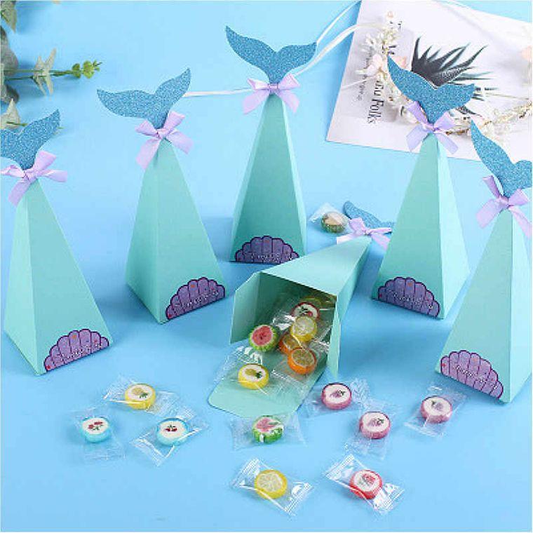 decoración de cumpleaños cajas regalos