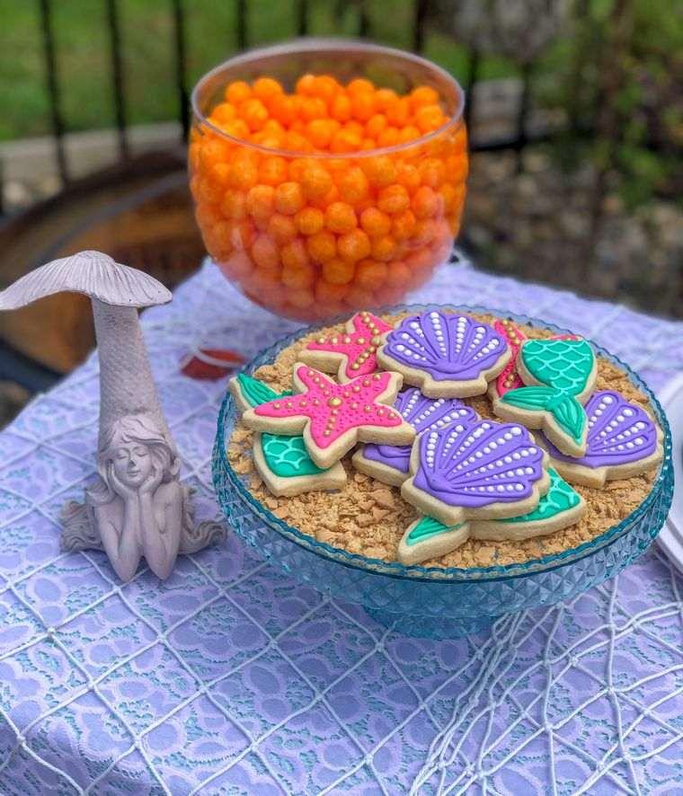 decoración de cumpleaños galletas