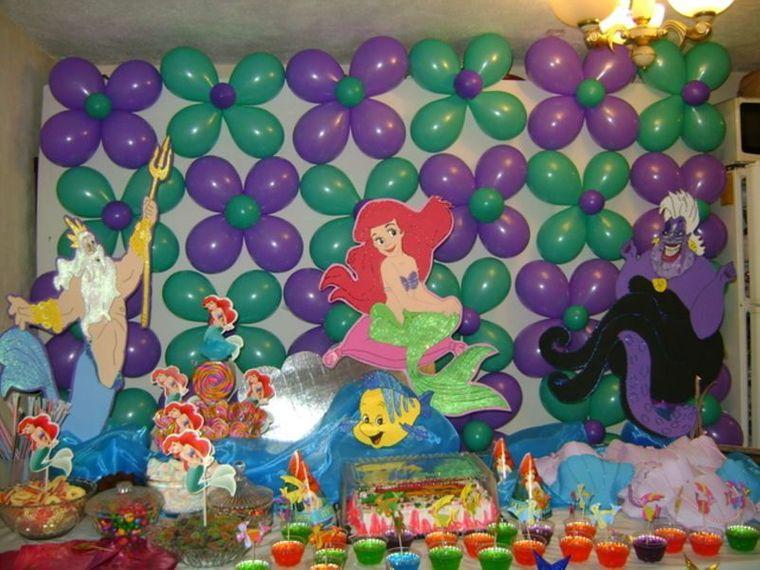 decoración de cumpleaños globos