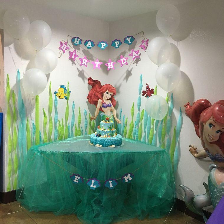decoración de cumpleaños infantil niña