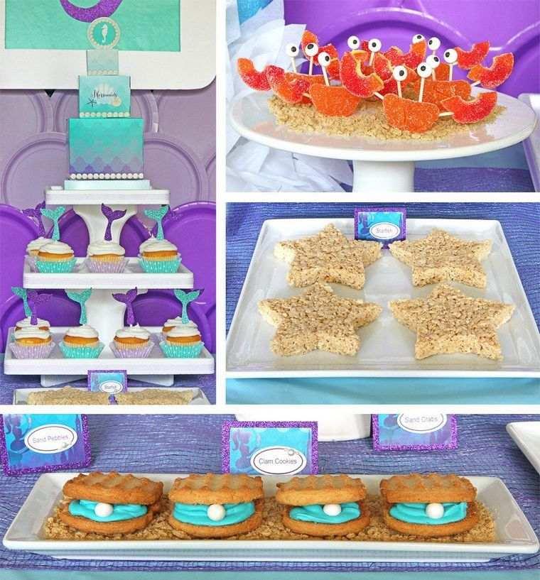 decoración de cumpleaños mesa dulces
