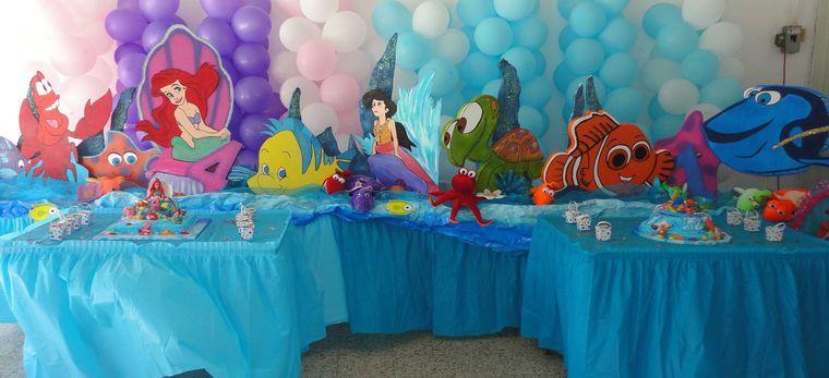 decoración de cumpleaños mesa