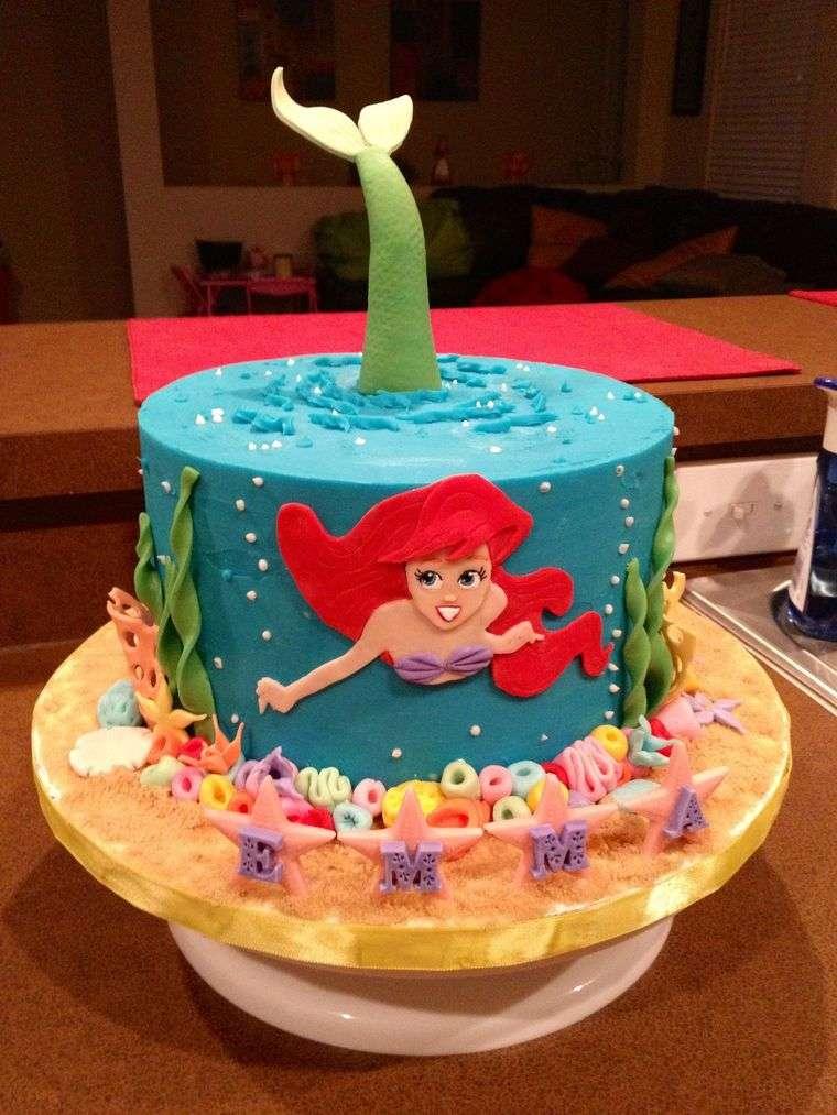 decoración de cumpleaños pastel