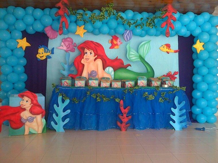 decoración de cumpleaños salon