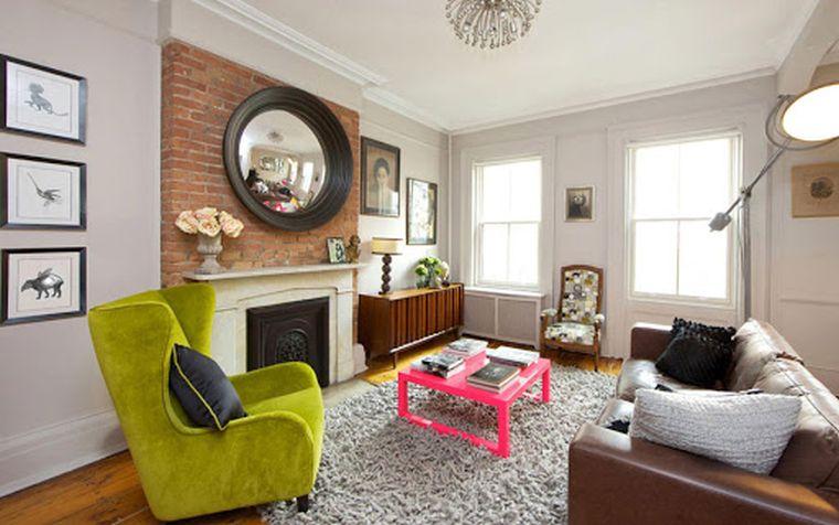 decoración ecléctica habitacion