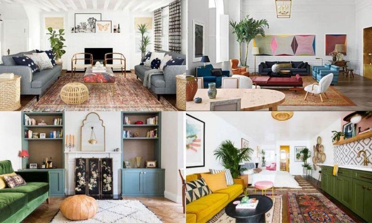 decoración ecléctica hogar