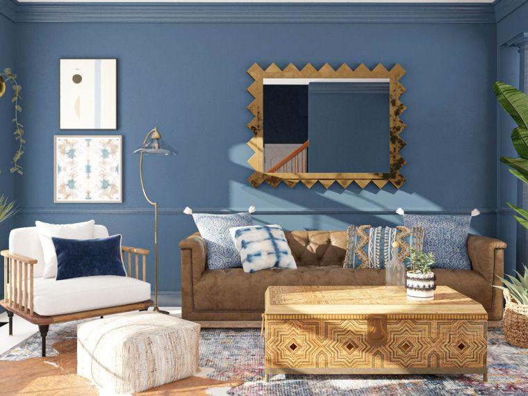 decoración ecléctica muebles