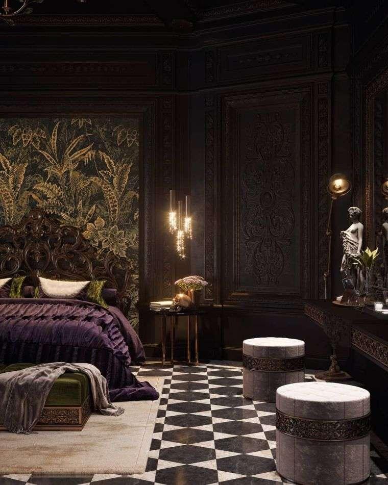 decorar-paredew-dormitorio-gotico