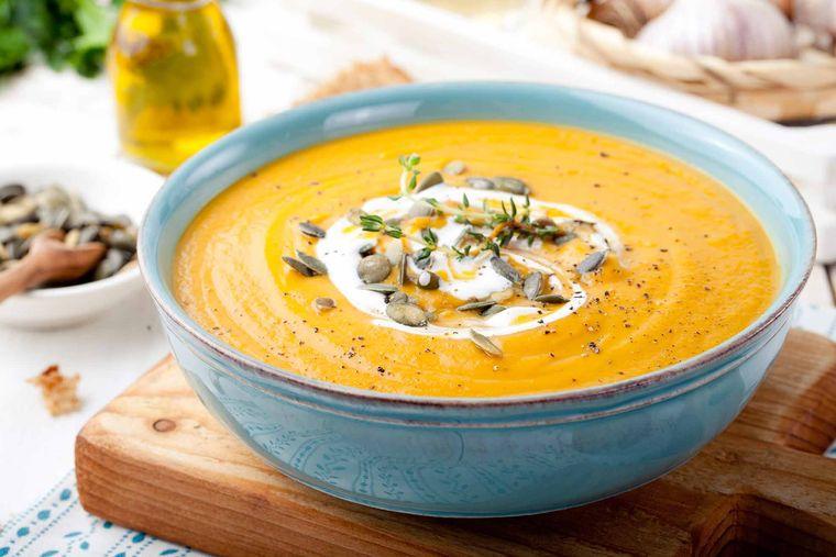 desintoxicar el cuerpo sopa calabaza