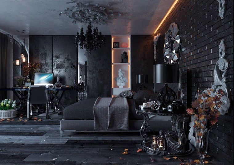 dormitorio-gotico-diseno-contemporaneo