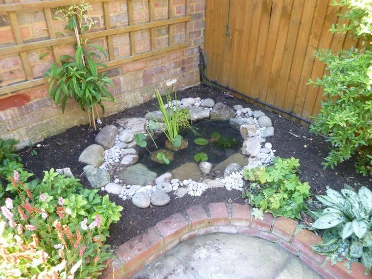 estanque adicion decorativa