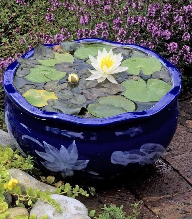 estanque ceramica