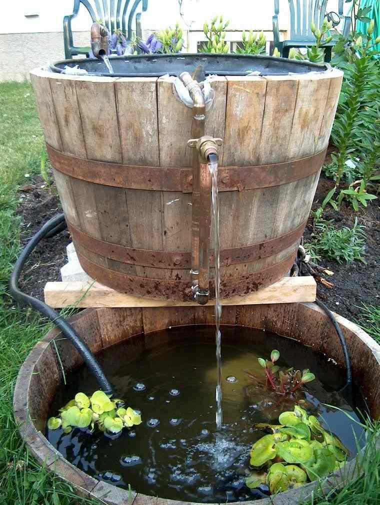 estanque doble barril
