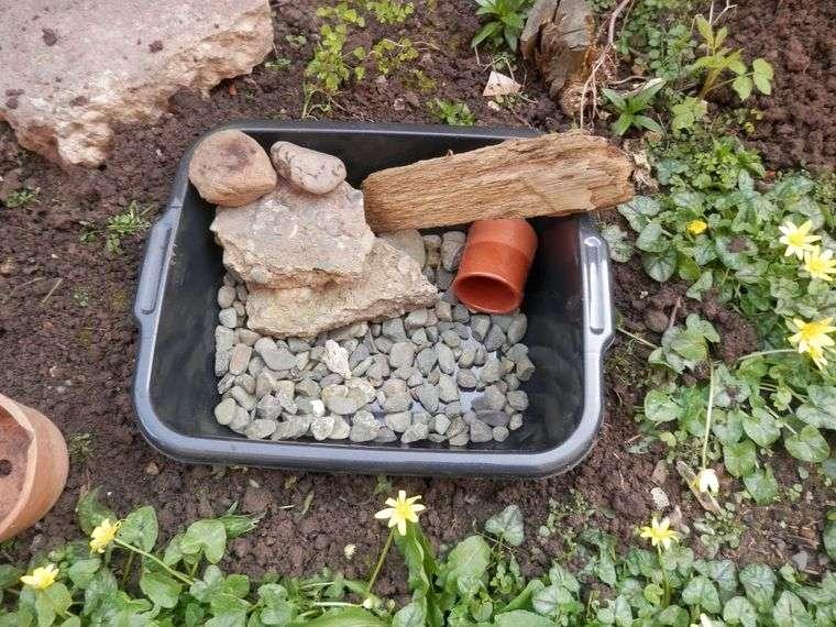 estanque materiales