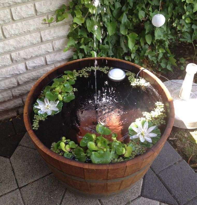 estanque mini fuente