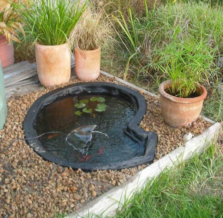 estanque pequeño sencillo