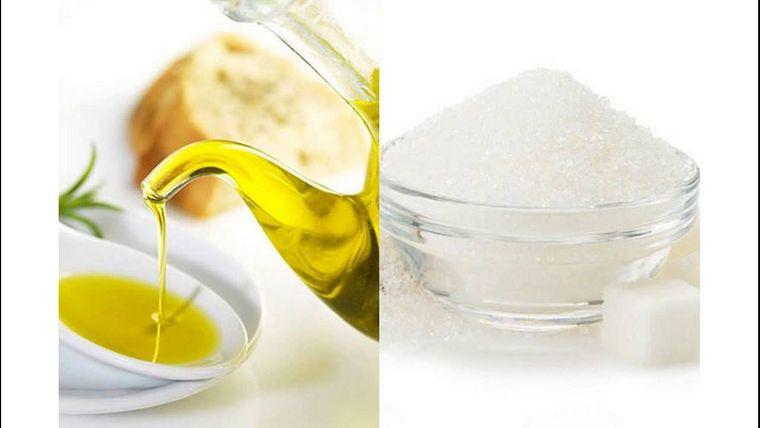 exfoliante facial casero azucar aceite