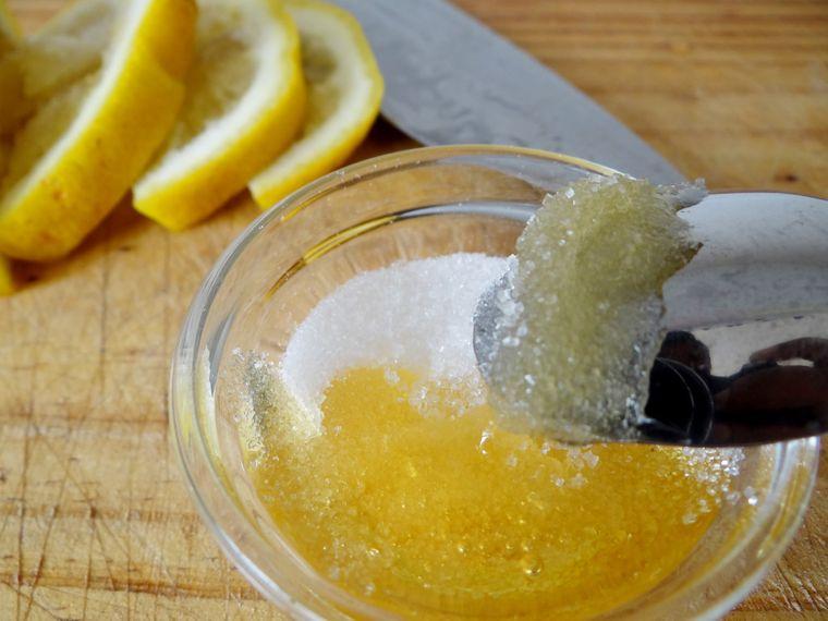 exfoliante facial casero limon azucar