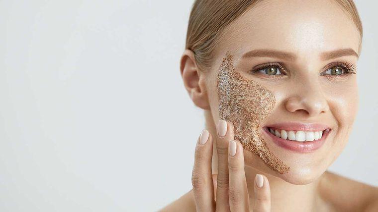 exfoliante facial casero limpieza