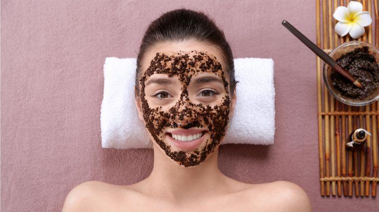 exfoliante facial casero relajante