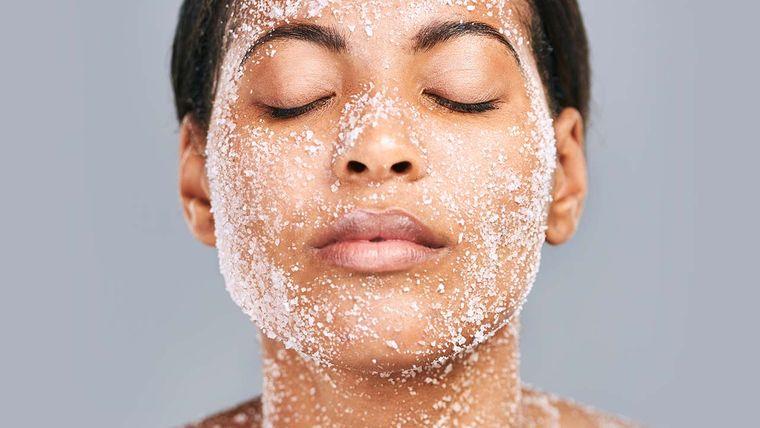 exfoliante facial casero saludable