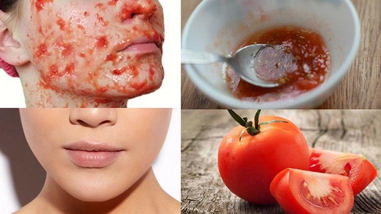 exfoliante facial casero tomate