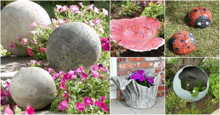 figuras para jardín decoracion original