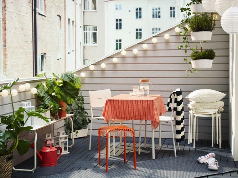 ideas creativas balcon decorado